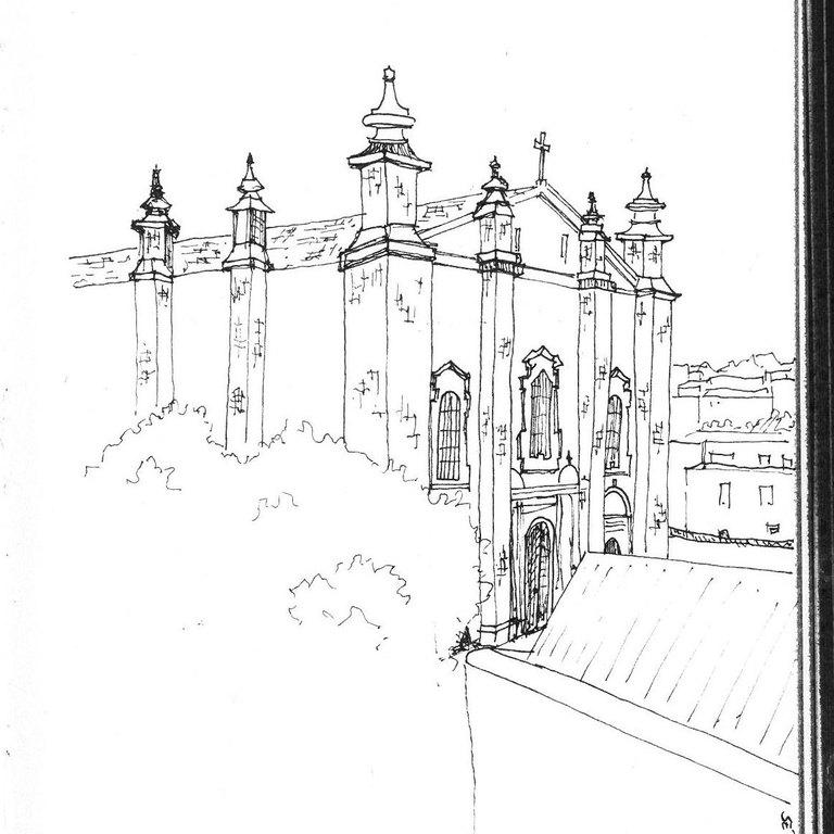 Leiria Cathedral · Érica Roda · 2017/2018