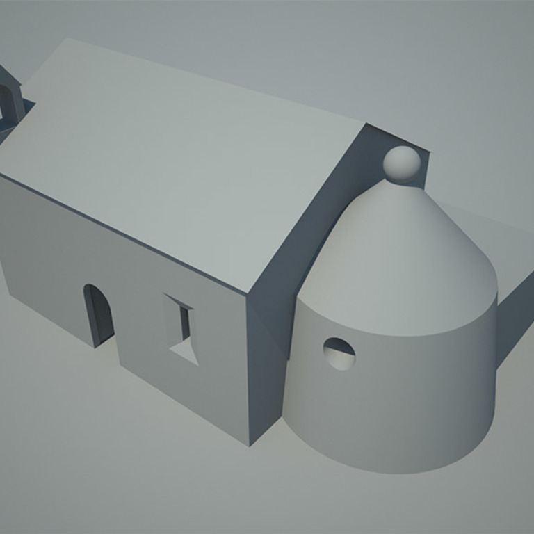 3D model of the chapel