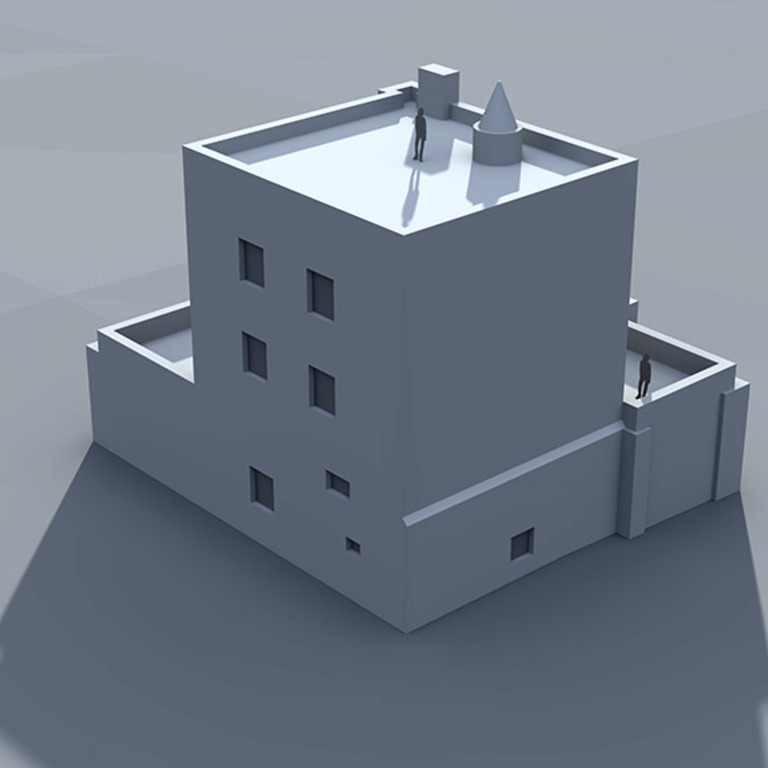 3D - edifício atual