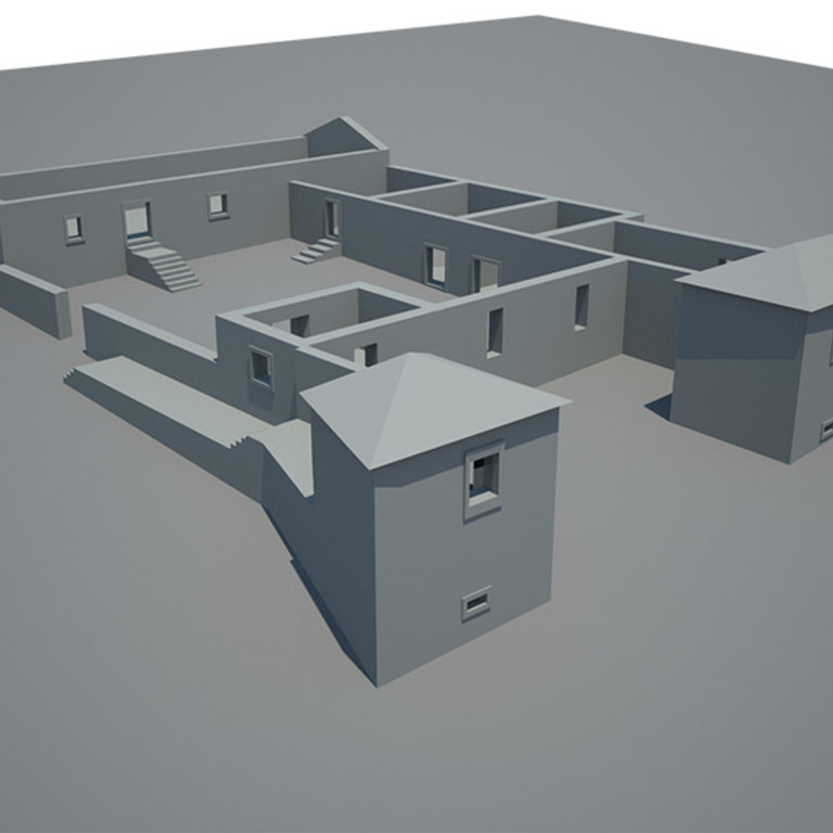 3D model of the existing