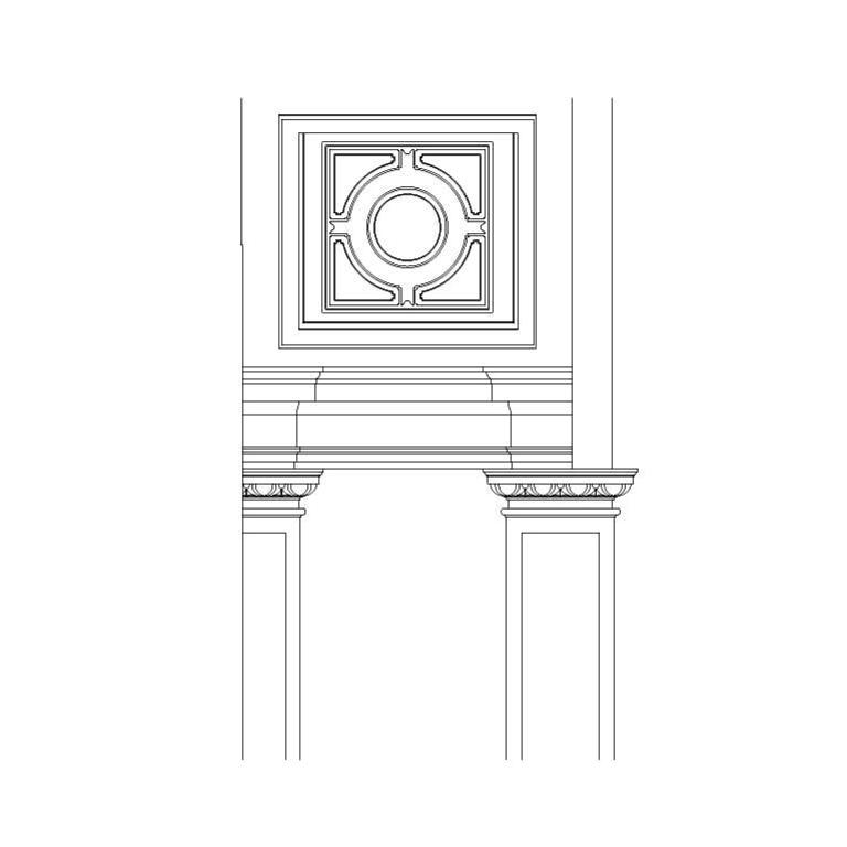 Antiga igreja de S. Jerónimo: detalhe da abóbada de capela lateral