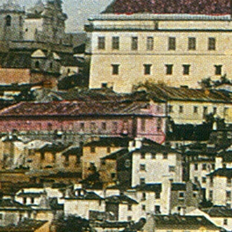 Detalhe de J. Levi & Cie – Ponte de Ferro, General view-Coimbra, 1875 (Coleção Pedro Bandeira)