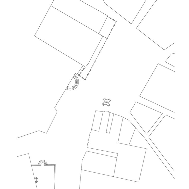 Planta baseada na Planta Topográfica da Praça de Sansão e ruas que lá vão dar (1796), de José Carlos Magne