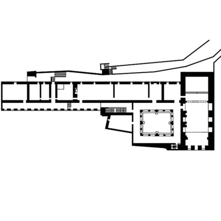 Planta do primeiro andar - proposta de interpretação