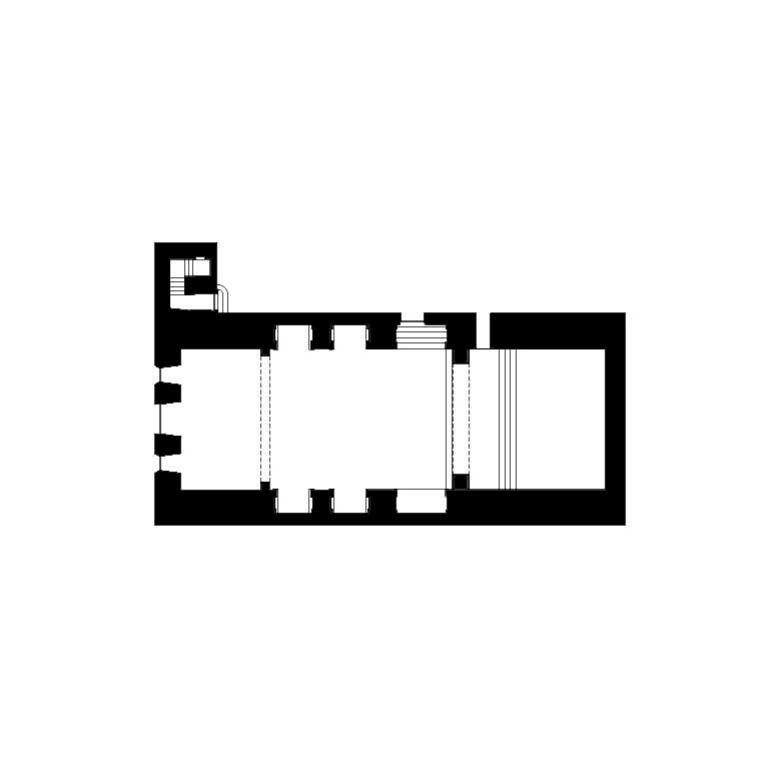 Igreja de S. Jerónimo, planta geral – proposta de interpretação