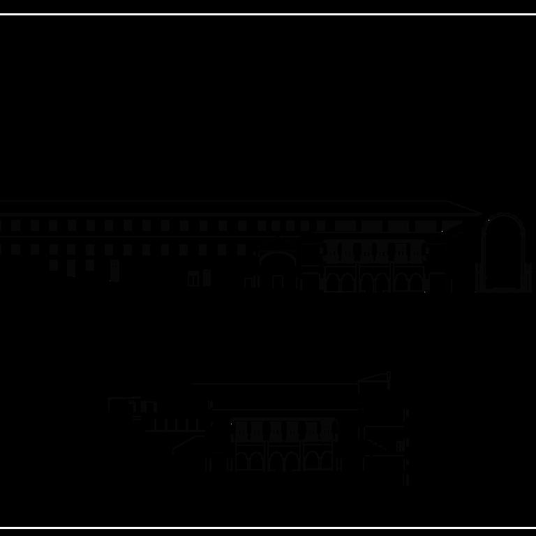 Alçado e cortes - levantamento (com base no levantamento do concurso de ideias para a Rua da Sofia)