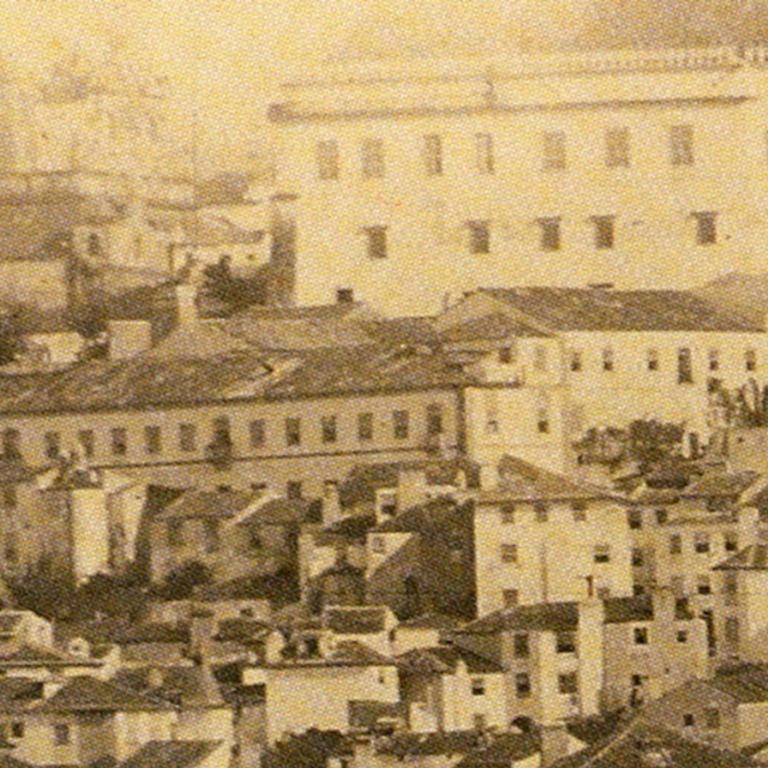 Detalhe da fotografia de Antero Frederico de Seabra, 1860 (Coleção Francisco Belchior)