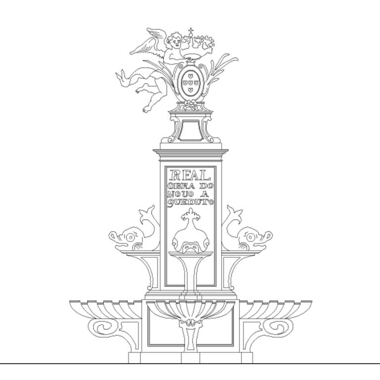 Project of the Aqueduct Fountain at Santa Clara-a-Nova Monastery